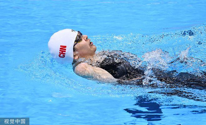 破世界纪录摘金!卢冬获残奥女子50米仰泳S5级冠军