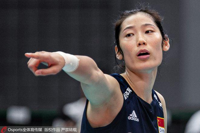 朱婷成为中国夏奥首位开幕式女旗手 比肩杨扬周洋
