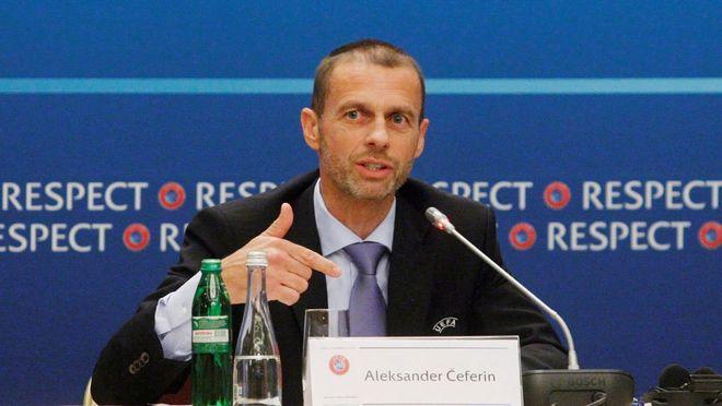 欧足联主席:踢欧超的球员 将禁止参加世界杯+欧洲杯