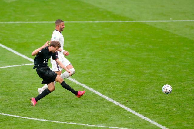 欧洲杯15场0球 穆勒单刀不进踢飞德国队最后希望