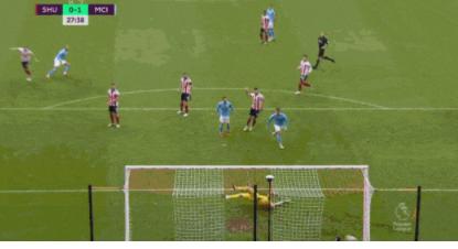 英超最新积分榜:曼城1-0谢菲尔德联(附全场录像)