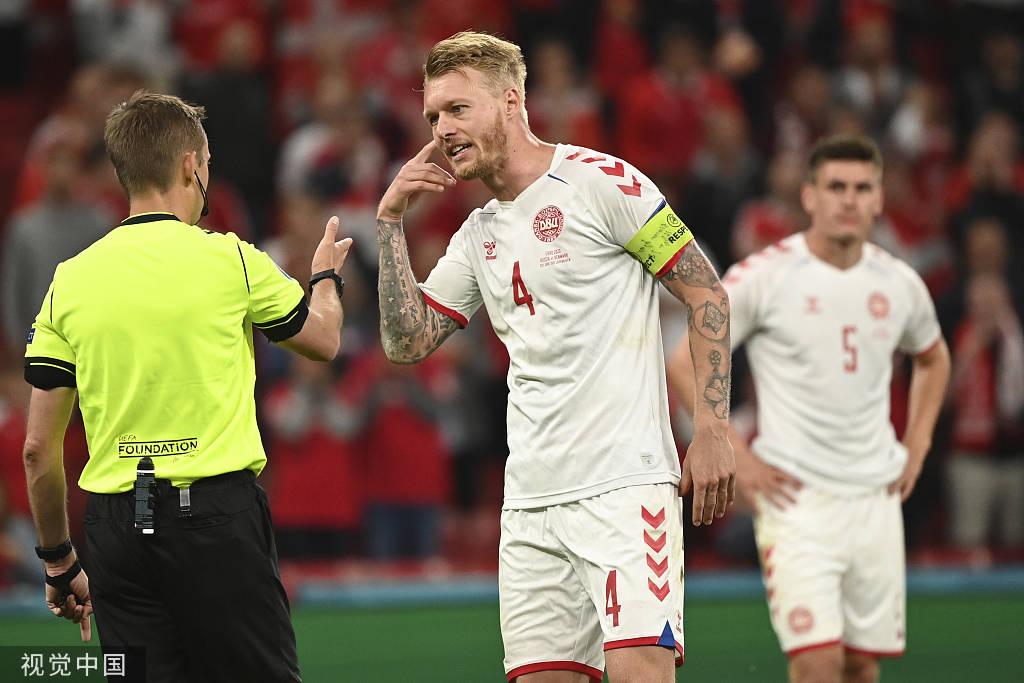 欧足联官方:克亚尔当选欧洲杯1/8决赛最佳球员