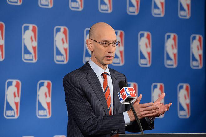 萧华:NBA过去一年收入损失1/3 扩军不是当务之急
