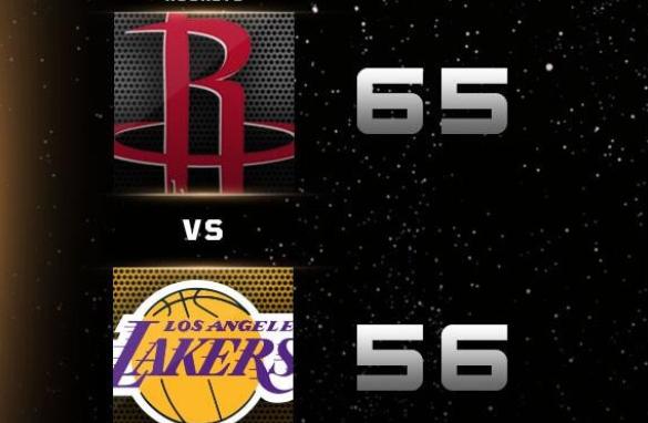 NBA积分榜:湖人97-113火箭,湖人两连败!(附全场NBA录像回放)