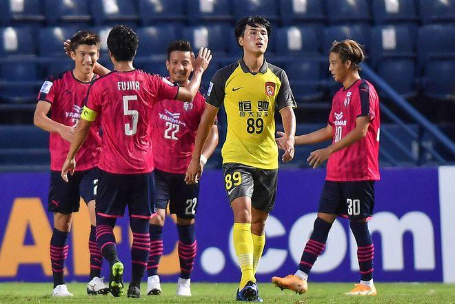 亚冠-5连败+0进球!广州队0-5樱花 锁定小组垫底