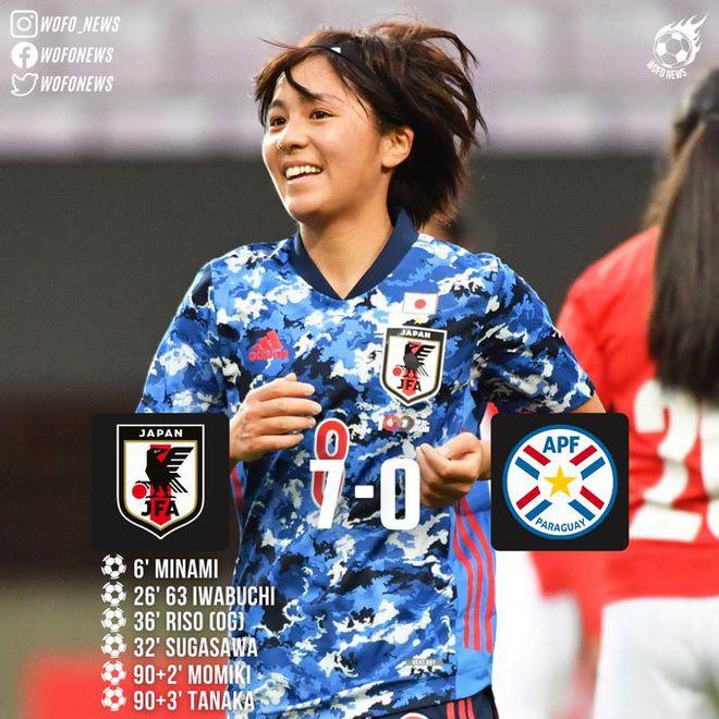 不讲武德!日本女足7-0南美劲旅 行云流水如巅峰巴萨