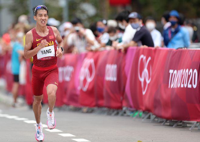 创马拉松奥运最佳战绩!杨绍辉:中国队成绩优于日本