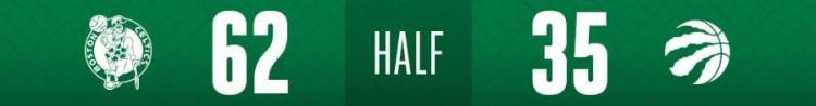 NBA东部半决赛战报:凯尔特人111-89猛龙,绿军夺得赛点,总比分3-2