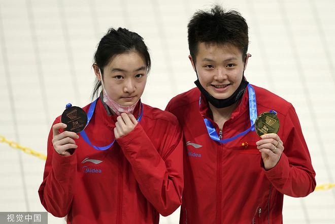 跳水世界杯戴利十米台双冠王 英国夺三金中国两冠