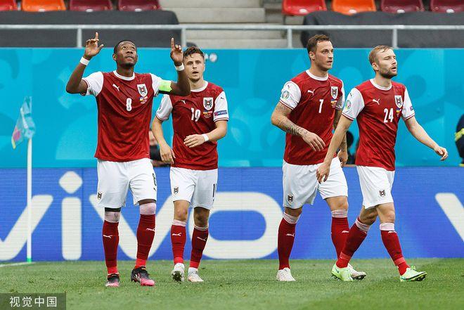 C组-鲍姆破门阿瑙2失良机 奥地利1-0晋级将战意大利