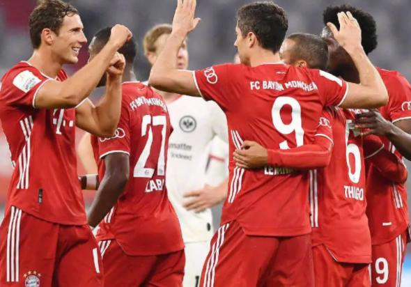 德甲联赛直播:第5轮赛程拜仁慕尼黑vs法兰克福视频直播