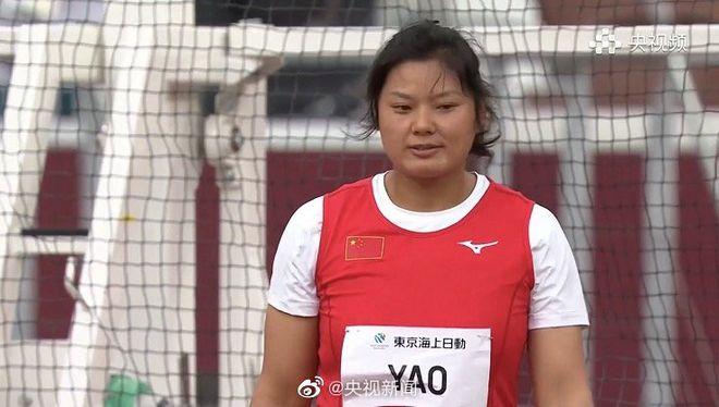 残奥铁饼中国包揽金银牌 姚娟44.73米打破世界纪录