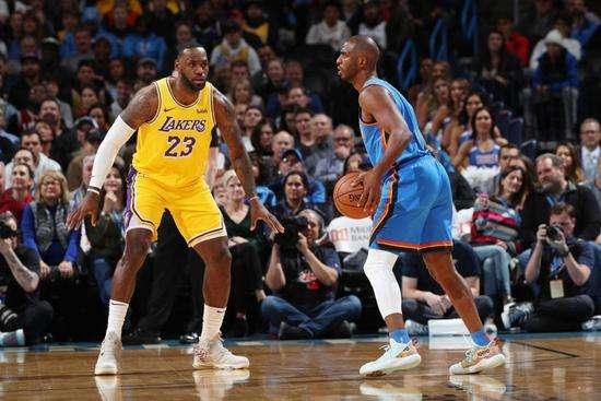 竞彩篮球分析推荐:NBA湖人vs雷霆免费视频直播前瞻