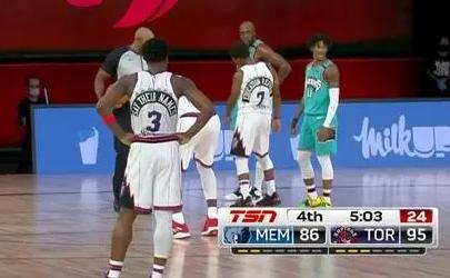 NBA积分榜:灰熊99-108猛龙(附全场NBA录像回放)
