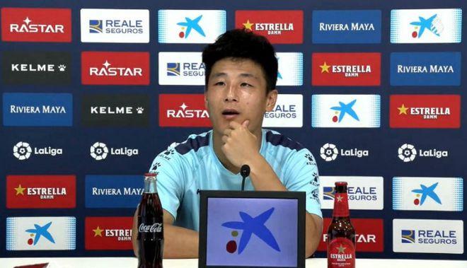 武磊:在高节奏联赛踢完 回国家队感觉比较轻松