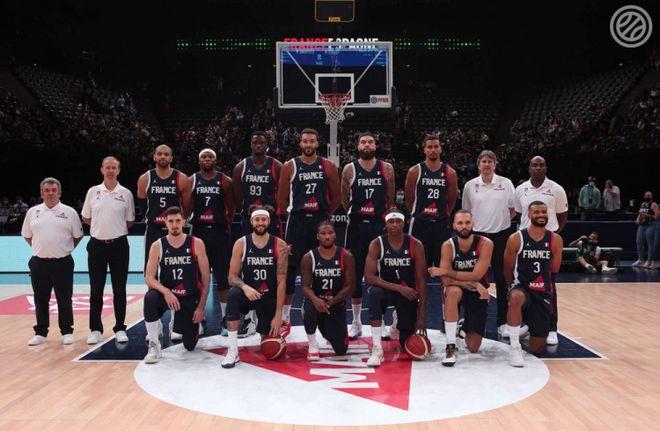 法国男篮奥运热身赛3连败 戈贝尔巴图姆坐镇仍低迷