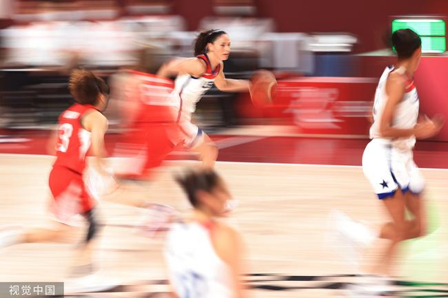 格林娜30分美国女篮夺金牌 轻松击败对手7连冠