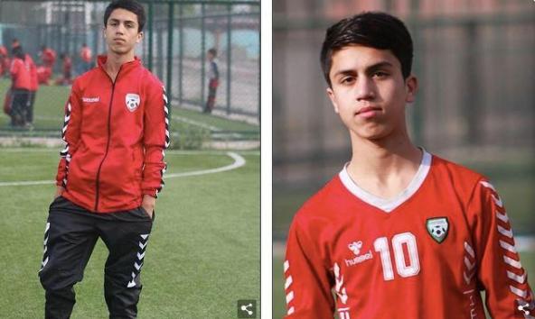 阿富汗19岁国青球员扒美军飞机坠亡 穿10号球衣