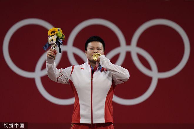 牛!中国代表团一日获5金 创本届奥运单日夺金记录