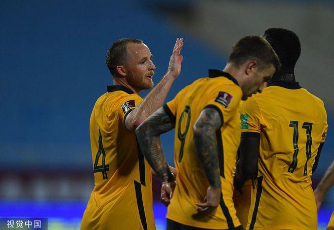 世预赛-格兰特制胜球 澳洲客场1-0越南2连胜列第1