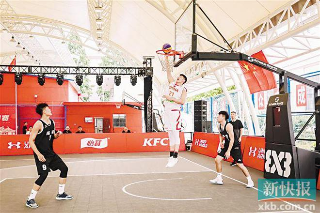 三人篮球国家队奥运前