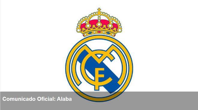 皇马官方:阿拉巴新冠检测呈阳性 7月22日完成首练