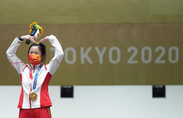 奥运中国10大新人:00后杨倩赢首金 全红婵3跳满分