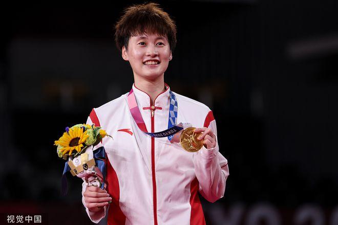 陈雨菲回望奥运:起初像在度假 半决赛反而压力最小
