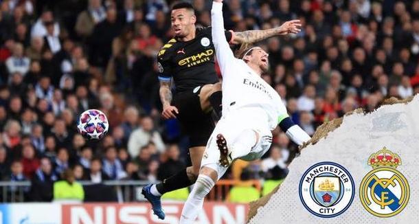 欧冠1/8决赛次回合直播:曼城vs皇家马德里前瞻