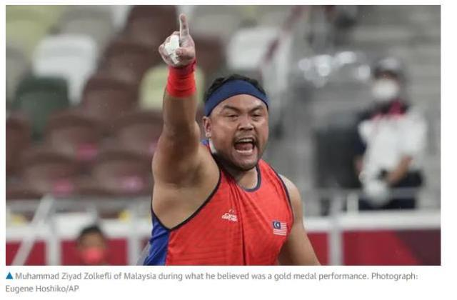 无正当理由迟到3分钟 马来西亚残奥选手被取消金牌