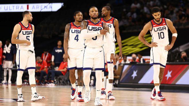 名记:明日美国男篮VS澳大利亚的热身赛被取消